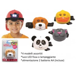 TORCIA FRONTALE A LED JUNIOR