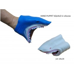 HAND PUPPET SQUALO in silicone